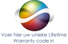 Lifetime Warranty code